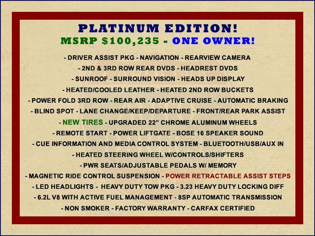 2016 Cadillac Escalade ESV Platinum Edition 4X4 - MSRP $100,235 - NEW TIRES! Mooresville , NC 1