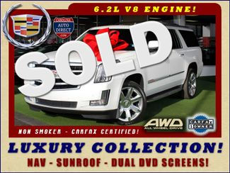 2016 Cadillac Escalade ESV Luxury Collection AWD - NAV - DUAL DVDS - SUNROOF! Mooresville , NC