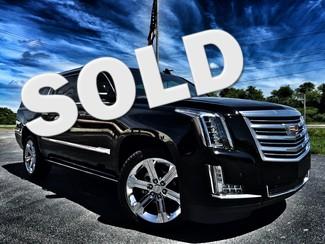 2016 Cadillac Escalade ESV PLATINUM ESV AWD BLACK/BLACK REAR ENT Tampa, Florida