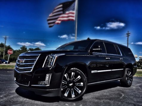 2016 Cadillac Escalade ESV PLATINUM ESV AWD BLACK/BLACK 1 OWNER in , Florida
