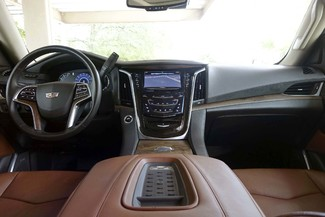 2016 Cadillac Escalade PREMIUM * 4x4 * 22s * PWR BOARDS * DVD *Kona Brown Plano, Texas 8