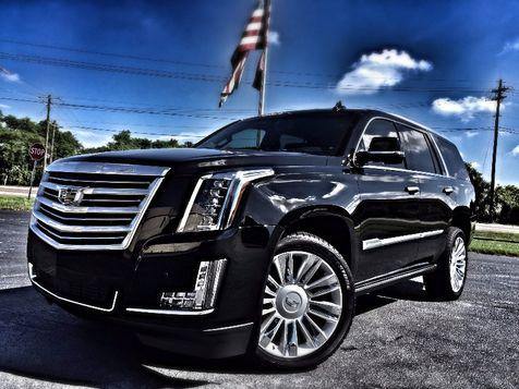 2016 Cadillac Escalade PLATINUM BLACK/BLACK $92K NEW in , Florida