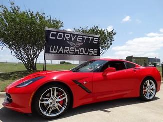 2016 Chevrolet Corvette Coupe 3LT, Z51, Auto, Red Calipers, Chromes 11k! in Dallas Texas