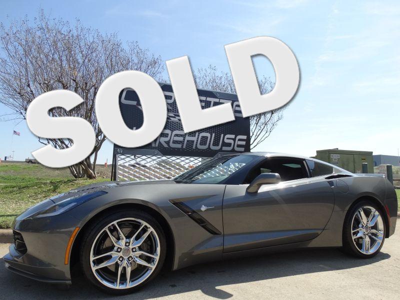 2016 Chevrolet Corvette Coupe Z51, 3LT, NPP, NAV, Chromes 16k!   Dallas, Texas   Corvette Warehouse