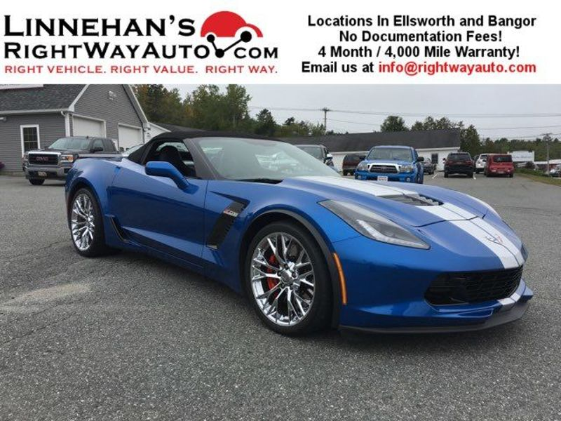 2016 Chevrolet Corvette Z06 3LZ  in Bangor, ME