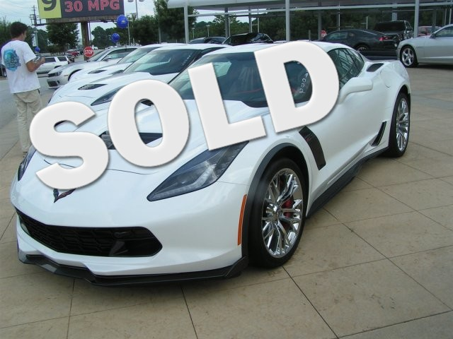 2016 Chevrolet Corvette Z06 2LZ They are here 2016 White Z06 Corvette with its 62 liter sup