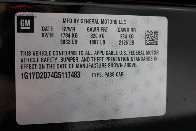 2016 Chevrolet Corvette 2LT Merrillville, Indiana 51