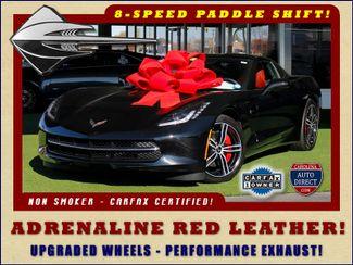 2016 Chevrolet Corvette LT ADRENALINE RED LEATHER - UPGRADED WHEELS! Mooresville , NC