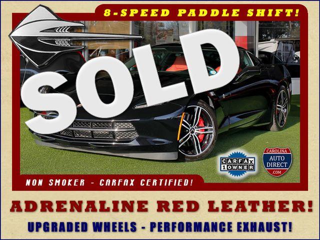 2016 Chevrolet Corvette LT ADRENALINE RED LEATHER - UPGRADED WHEELS! Mooresville , NC 48