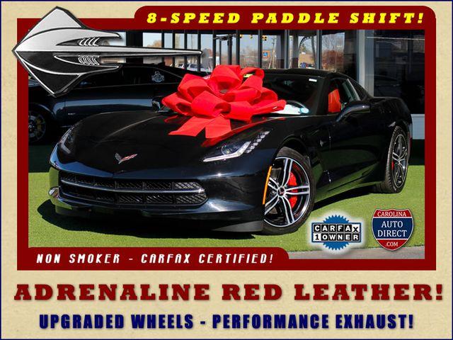 2016 Chevrolet Corvette LT ADRENALINE RED LEATHER - UPGRADED WHEELS! Mooresville , NC 0