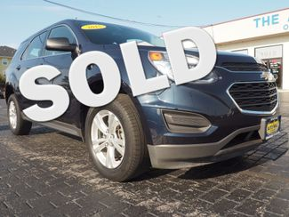2016 Chevrolet Equinox LS | Champaign, Illinois | The Auto Mall of Champaign in  Illinois