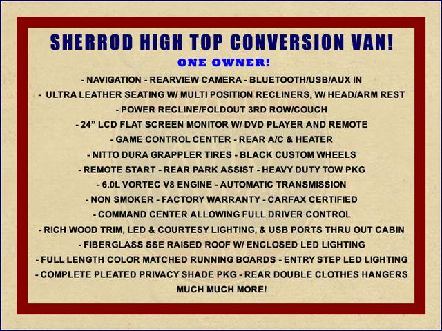 2016 Chevrolet Express Van 2500 SHERROD HIGH TOP CONVERSION VAN Mooresville , NC 1