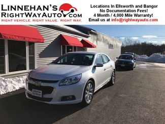 2016 Chevrolet Malibu Limited LTZ in Bangor