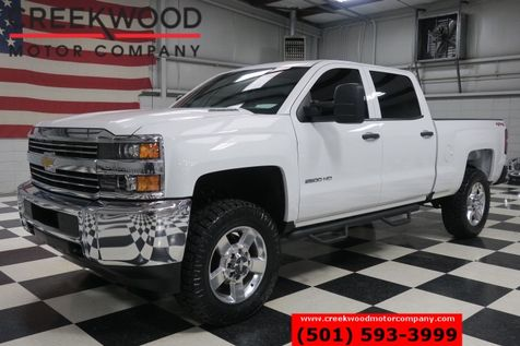 2016 Chevrolet Silverado 2500 White 4x4 Diesel Chrome 20s New Tires 1 Owner NICE in Searcy, AR