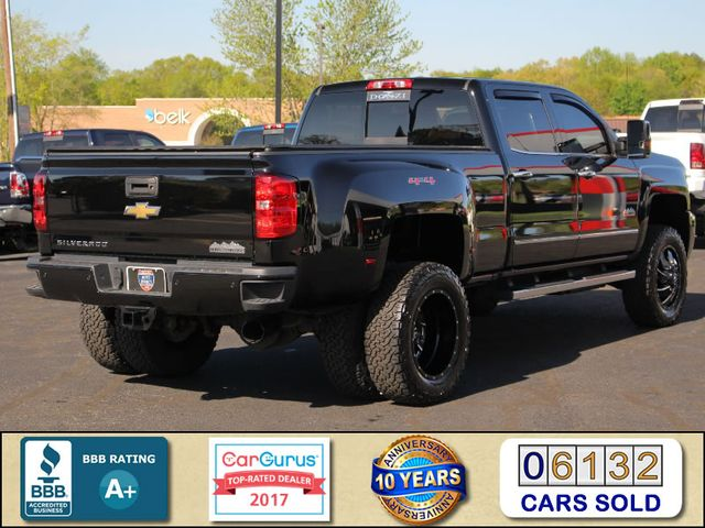 2016 Chevrolet Silverado 3500HD High Country Crew Cab 4x4 - LIFTED - DRIVER ALERT! Mooresville , NC 2