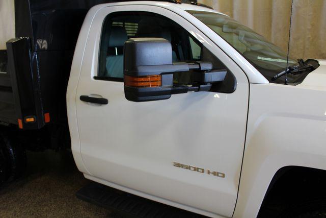 2016 Chevrolet Silverado 3500HD Dump with plow Roscoe, Illinois 7