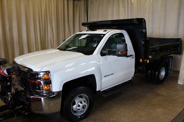 2016 Chevrolet Silverado 3500HD Dump with plow Roscoe, Illinois 3