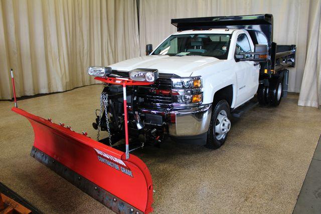 2016 Chevrolet Silverado 3500HD Dump with plow Roscoe, Illinois 2