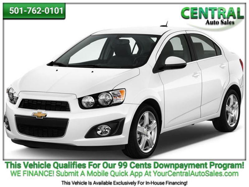 2016 Chevrolet Sonic LT   Hot Springs, AR   Central Auto Sales in Hot Springs AR
