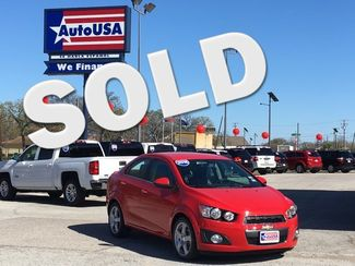 2016 Chevrolet Sonic LTZ Leather | Irving, Texas | Auto USA in Irving Texas