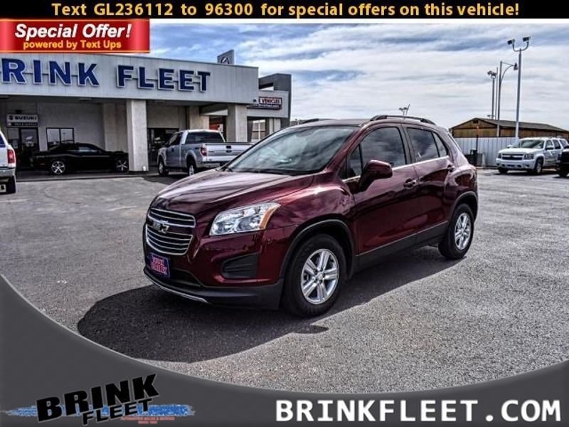 2016 Chevrolet Trax LT | Lubbock, TX | Brink Fleet in Lubbock TX