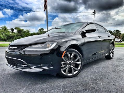 2016 Chrysler 200 S BLACK/BLACK LEATHER 1 OWNER in , Florida