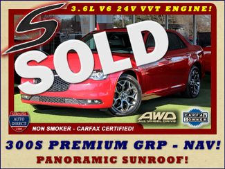 2016 Chrysler 300 300S AWD W/ PREMIUM GRP - NAV - PANO SUNROOFS! Mooresville , NC