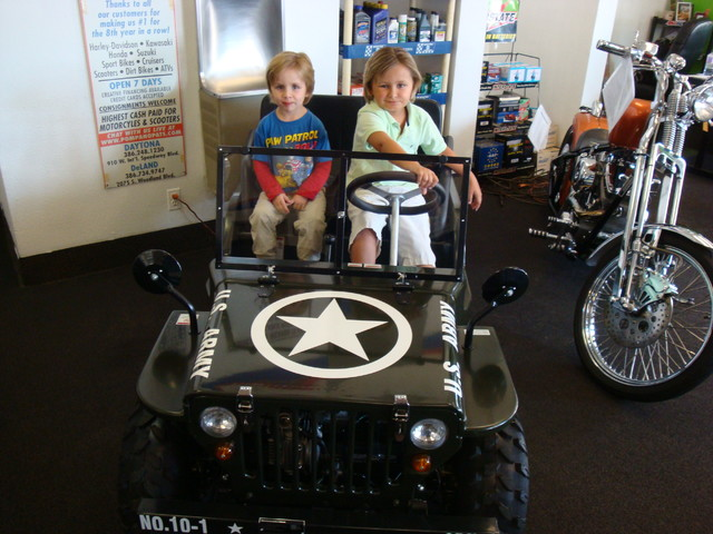 2017 Zhejiang Mini Jeep 125cc Daytona Beach, FL 6