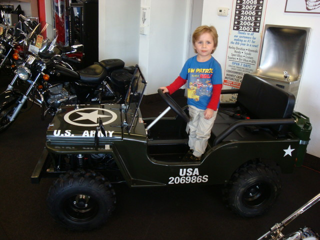 2017 Zhejiang Mini Jeep 125cc Daytona Beach, FL 5