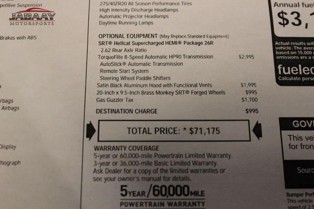 2016 Dodge Challenger SRT Hellcat Merrillville, Indiana 52
