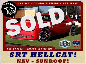 2016 Dodge Challenger SRT Hellcat NAV - SUNROOF - 199 MPH TOP SPEED! Mooresville , NC