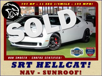 2016 Dodge Challenger SRT Hellcat - NAV - SUNROOF - 199 MPH TOP SPEED! Mooresville , NC