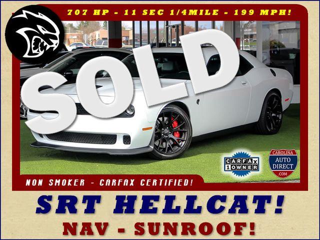 2016 Dodge Challenger SRT Hellcat - NAV - SUNROOF - 199 MPH TOP SPEED! Mooresville , NC 0