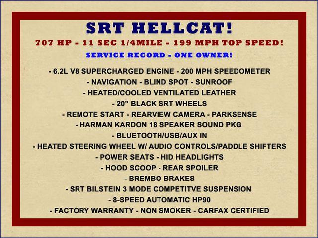 2016 Dodge Challenger SRT Hellcat - NAV - SUNROOF - 199 MPH TOP SPEED! Mooresville , NC 1