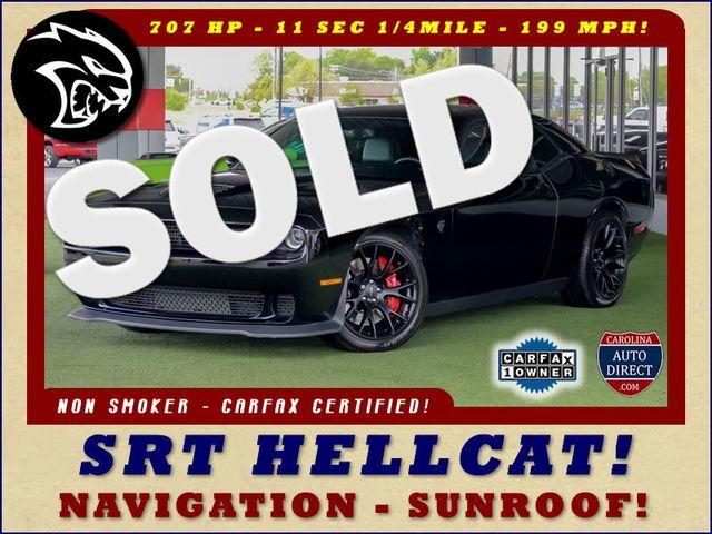 2016 Dodge Challenger SRT Hellcat - NAVIGATION - SUNROOF! Mooresville , NC 0