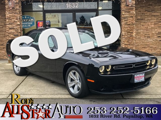 2016 Dodge Challenger SXT The CARFAX Buy Back Guarantee that comes with this vehicle means that yo