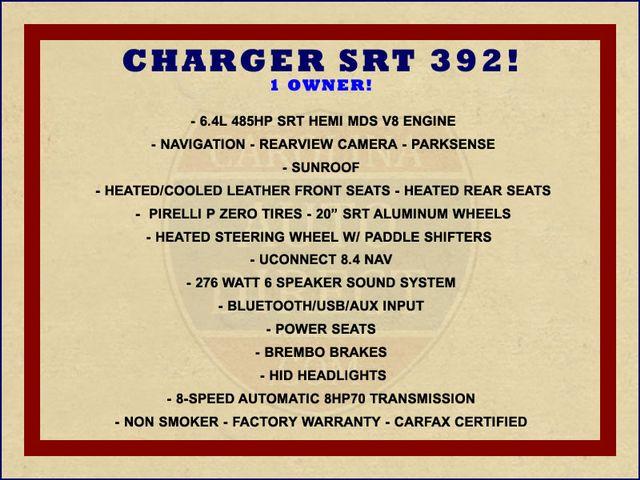 2016 Dodge Charger SRT 392 - NAVIGATION - SUNROOF! Mooresville , NC 1
