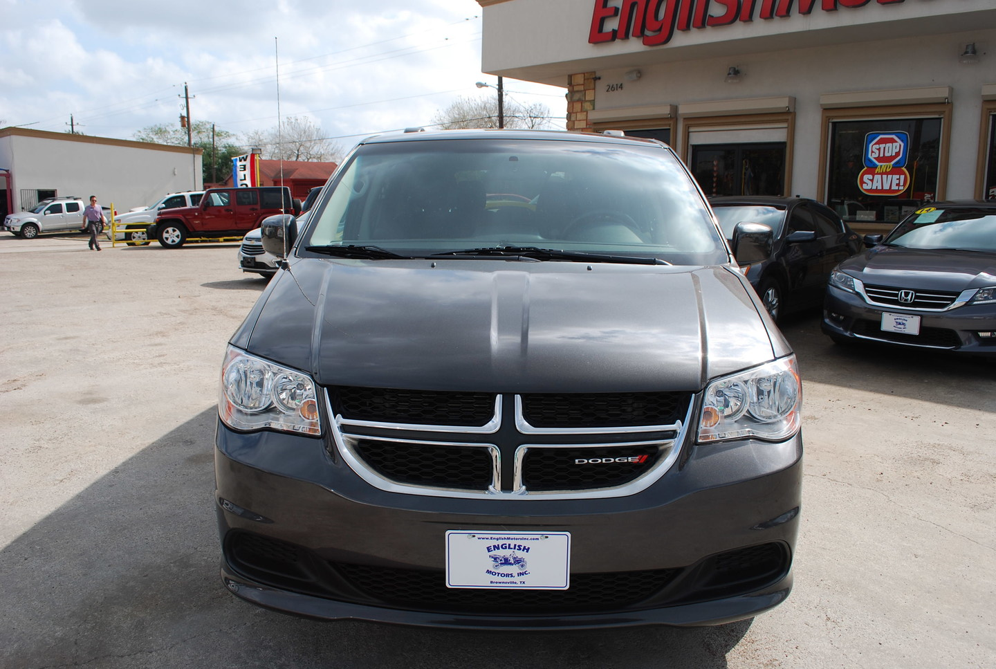 2016 Dodge Grand Caravan Sxt Brownsville Tx English Motors: english motors inc