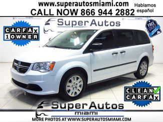 2016 Dodge Grand Caravan American Value Pkg Doral (Miami Area), Florida