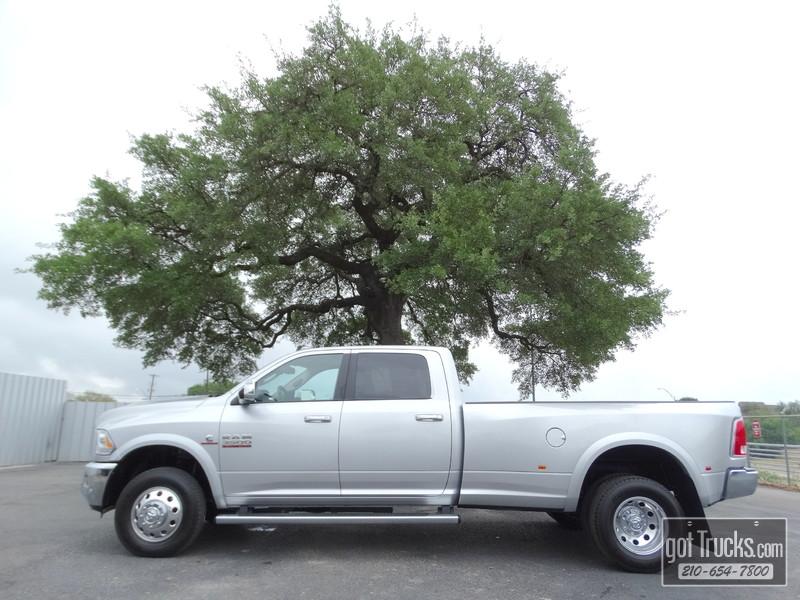 2016 Dodge Ram 3500 DRW Crew Cab Laramie 6.7L Cummins Turbo Diesel 4X4 in San Antonio Texas