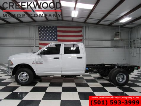 2016 Dodge Ram 3500 ST 4x4 Diesel Dually Cab Chassis White New Tires in Searcy, AR