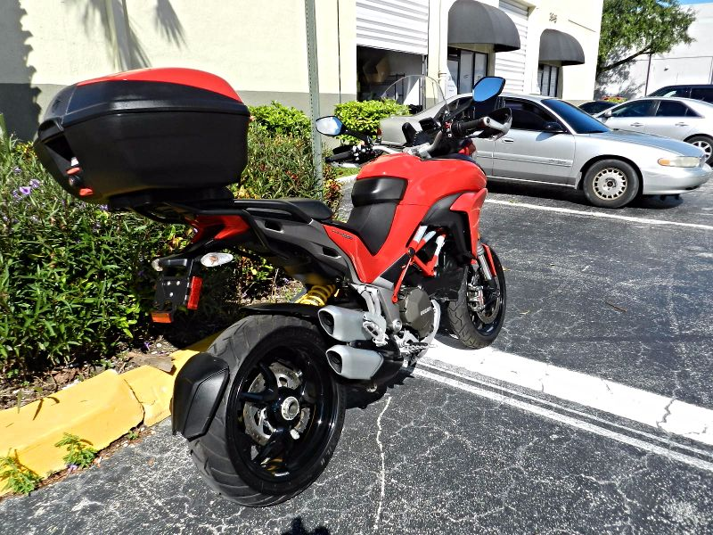 2016 Ducati Multistrada S 1200 ONLY 452 MILES Factory Warranty  city Florida  MC Cycles  in Hollywood, Florida