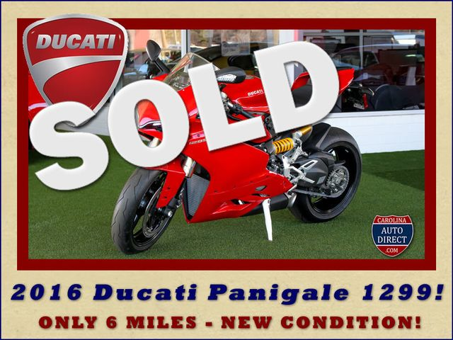 2016 Ducati Panigale 1299 - ONLY 6 MILES - NEW CONDITION! Mooresville , NC 0