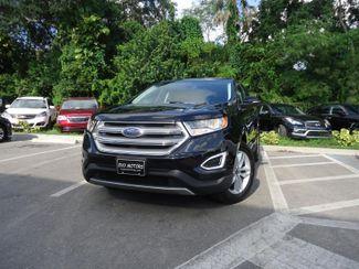 2016 Ford Edge SEL AWD. LEATHER SEFFNER, Florida 4