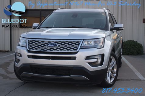 2016 Ford Explorer Limited | DRIVER ASSIST-2 PANEL ROOF- LANE DEPARTURE-BLIND SPOT MONITOR-FORD WARRANTY! in Mansfield, TX