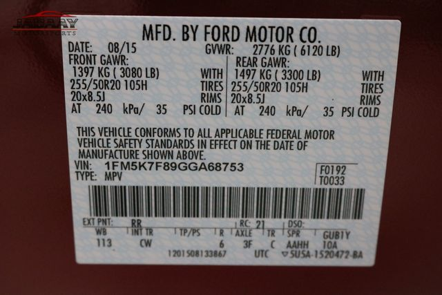 2016 Ford Explorer Limited Merrillville, Indiana 54