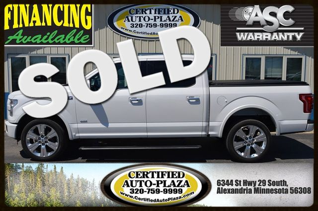 2016 Ford F-150 Limited in Alexandria Minnesota