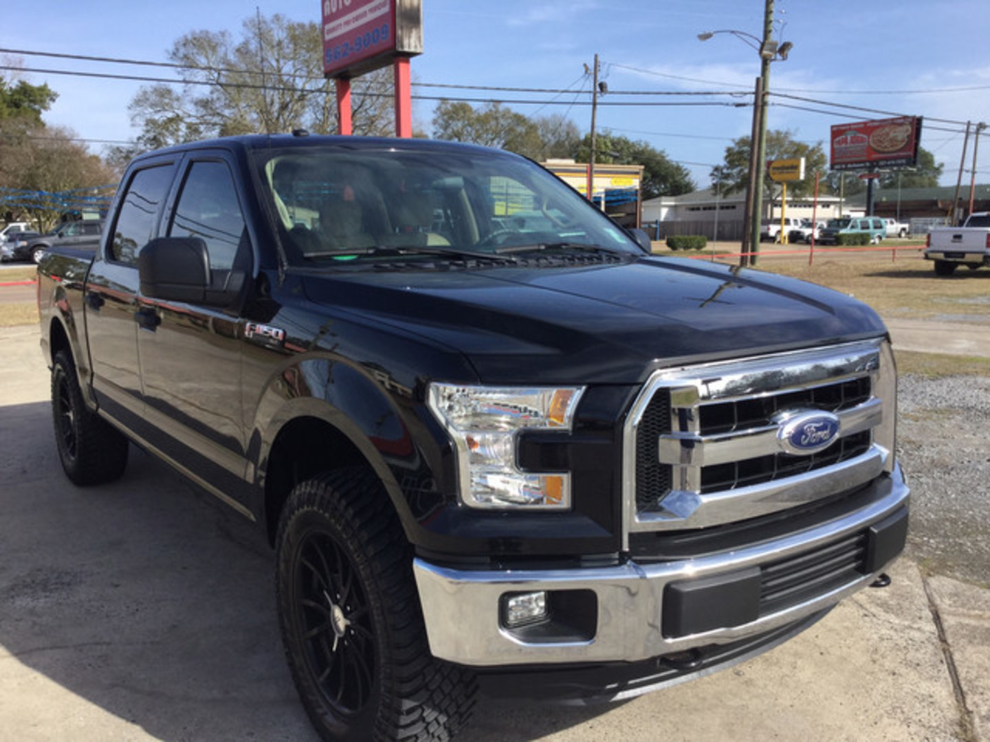2016 ford f 150 xlt city louisiana billy navarre certified. Black Bedroom Furniture Sets. Home Design Ideas