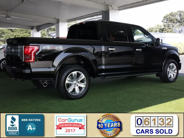 2016 Ford F-150 Platinum LUXURY SuperCrew 4x4 - TECH PKG! Mooresville , NC 2