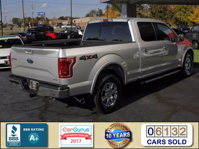 2016 Ford F-150 Lariat SuperCrew 4x4 - NAV - TWIN SUNROOFS! Mooresville , NC 2